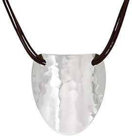 Robert Lee Morris RLM Jewelry by RLM Statement Multi-Strand LeatherNecklace