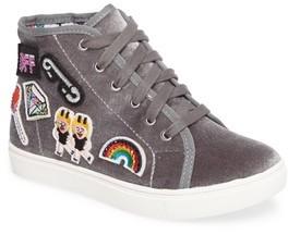 Steve Madden Girl's J-Bff High Top Sneaker