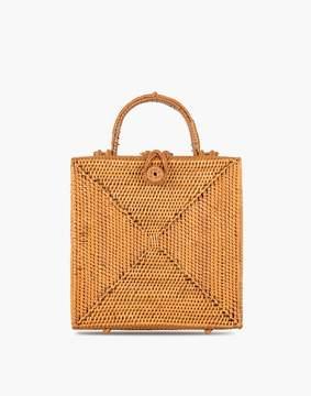 Madewell Bembien Stella Rattan Box Bag
