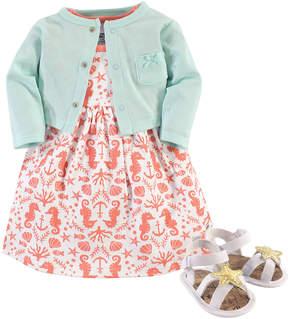 Hudson Baby Sea Sleeveless Dress Set - Newborn & Infant