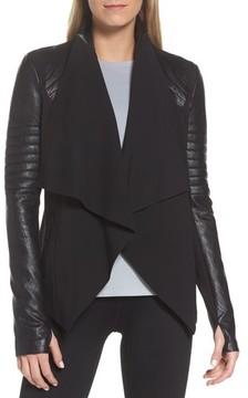 Blanc Noir Women's Drape Front Jacket