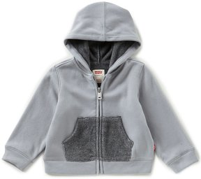 Levi's s Baby Boys 12-24 Months Zip-Front Knit Hoodie