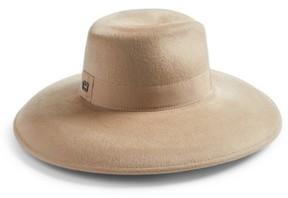 Eric Javits Women's Camille Wool Floppy Hat - Beige