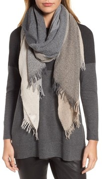 Eileen Fisher Women's Plaid Cashmere & Wool Scarf