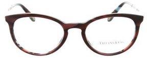 Tiffany & Co. Tortoiseshell Round Eyeglasses