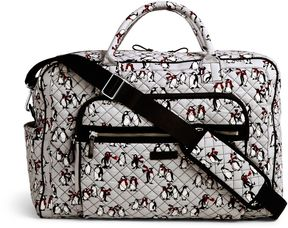 Vera Bradley Iconic Weekender Travel Bag - LILAC MEDALLION - STYLE