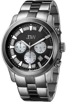 JBW Delano Mens 1/5 CT. T.W. Diamond Two-Tone Stainless Steel Watch JB-6218-A