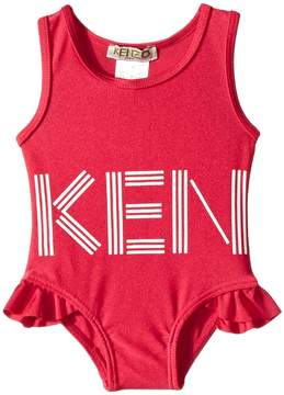 Kenzo Logo Swimsuit Girl's Swimsuits One Piece