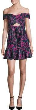WAYF Floral Mini Dress
