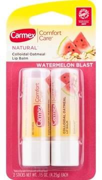Carmex Comfort Care Lip Balm Watermelon 2pk