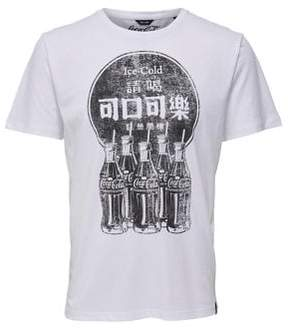 ONLY & SONS Vintage Logo Print Tee