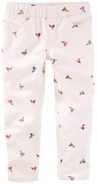 Osh Kosh Oshkosh Bgosh Toddler Girl Bird Twill Pants