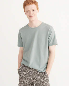 Abercrombie & Fitch Linen-Blend Tee