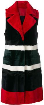 Drome long vest coat