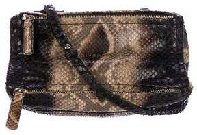 Givenchy Snakeskin Mini Pandora Bag