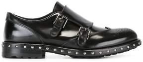 Dolce & Gabbana studded monk shoes