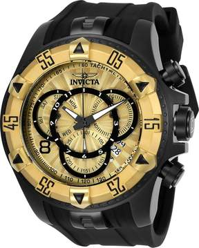 Invicta Excursion Chronograph Gold Dial Men's Watch