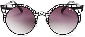 Quay Fleur Cat Eye Sunglasses, 49mm