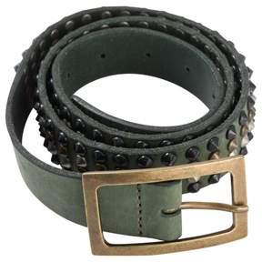 Zadig & Voltaire Green Leather Belt