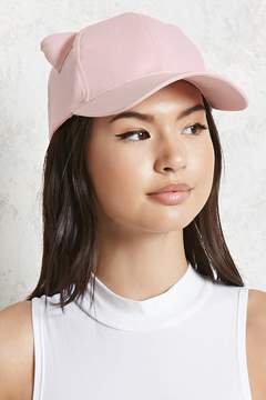 Forever 21 Cat Ear Baseball Cap
