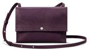 Shinola Accordion Grain Leather Crossbody Bag