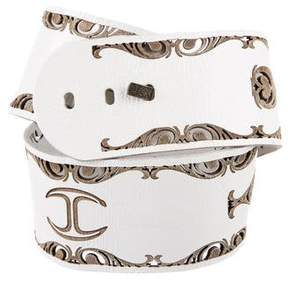 Just Cavalli Laser Cut Waist Belt