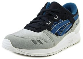 Asics Gel-lyte Iii Gs Youth Round Toe Synthetic Gray Running Shoe.