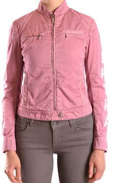 Brema Women's Pink Cotton Outerwear Jacket.