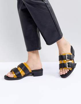 Asos Marigold Leather Chunky Sandals