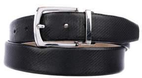 Tumi Textured Leather Belt