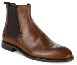 Bacco Bucci Fabri Leather Chelsea Boots