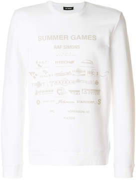 Raf Simons Summer Games sweater