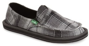 Sanuk Women's 'Pick Pocket' Plaid Slip-On
