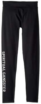 Spiritual Gangster Kids SG Varsity Legging Pants Girl's Casual Pants
