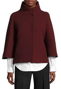 Aquilano Rimondi Wool Cape Coat