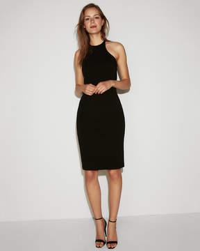 Express Strappy Halter Sheath Dress