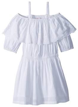 Ella Moss Off-The-Shoulder Peasant Dress Girl's Dress