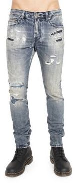 Cult of Individuality Distressed Cotton Jeans