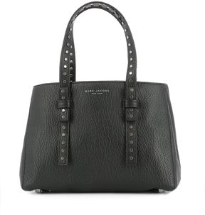 Marc Jacobs Black Leather Handle Bag - BLACK - STYLE
