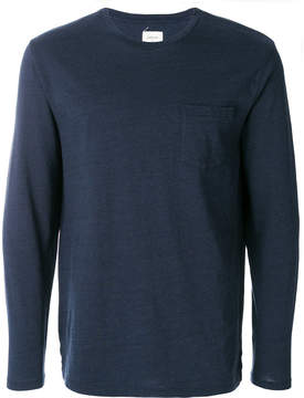 Bellerose crew neck pocket top