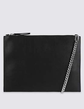 Marks and Spencer Faux Leather Chain Shoulder Bag