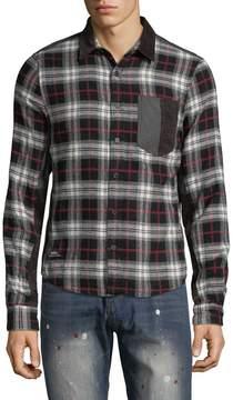 Mostly Heard Rarely Seen Men's Lexington Plaid Cotton Sportshirt