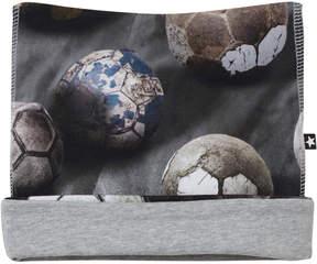 Molo Dusty Grey Soccer Neci Baby Hat