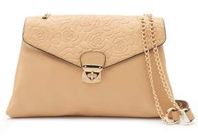 Mellow World Vera Embossed Roses Convertible Clutch