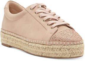 INC International Concepts I.n.c. Women's Eliza Platform Espadrille Sneakers, Created for Macy's Women's Shoes