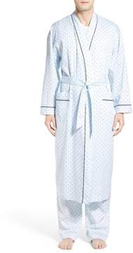 Majestic International Men's 'Twilight Blue' Cotton Robe