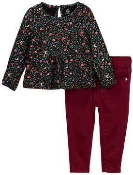 AG Jeans Printed Jersey Top & Pants Set (Baby Girls)