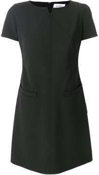 Courreges shift fitted dress