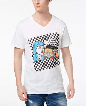 INC International Concepts I.n.c. Men's Taxi V-neck Graphic T-Shirt, Created for Macy's
