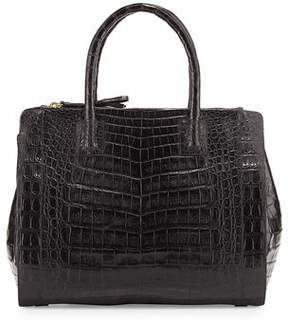 Nancy Gonzalez Crocodile Large Double-Zip Tote Bag